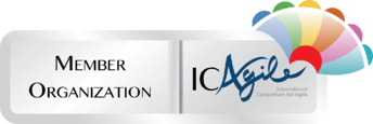 ICAgile Member Training Organisation logo