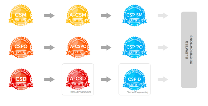 Scrum Alliance Path to CSP